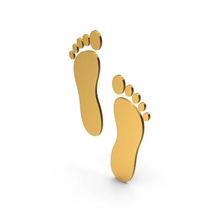 Symbol Footprint Gold