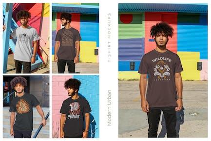 Urban Men T-Shirt Mockups
