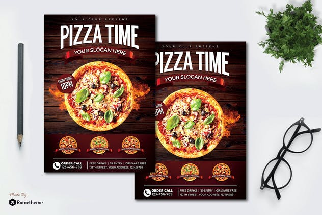 Pizza vol.05 - Flyer MR