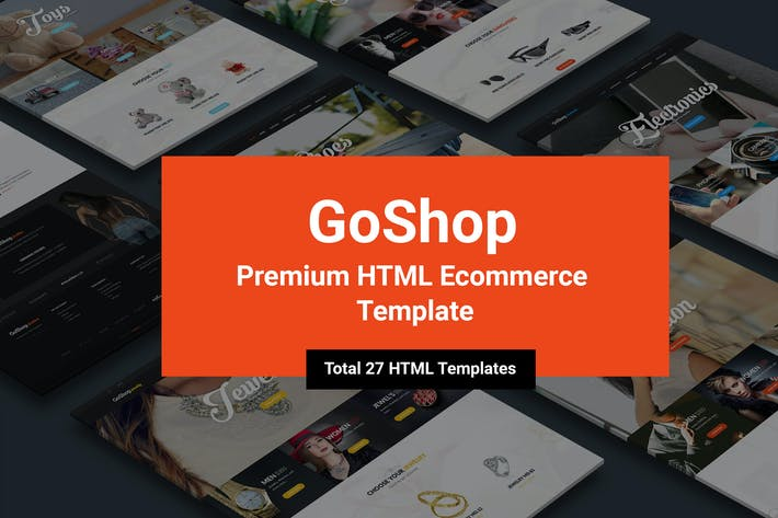 Thumbnail for GoShop - Premium HTML Ecommerce Template