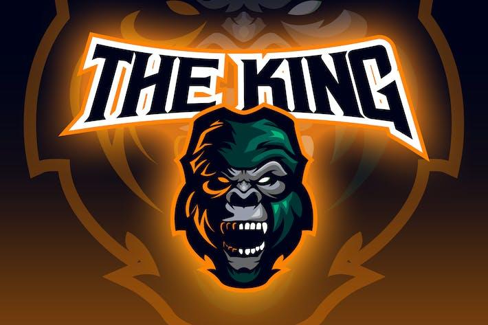 Thumbnail for Gorilla Head Esport Logo