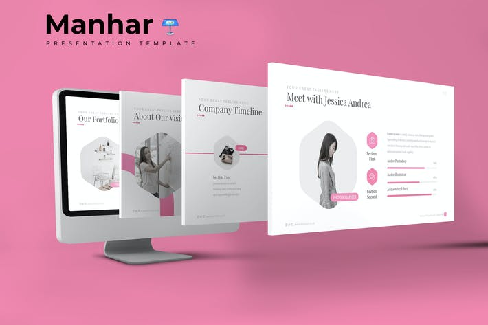 Cover Image For Manhar - Keynote Template
