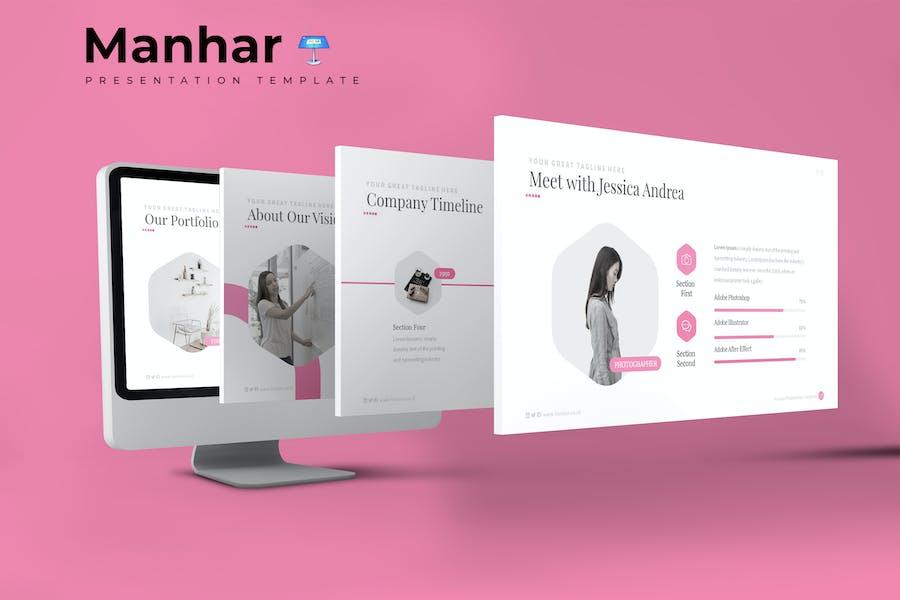 Manhar - Keynote Template