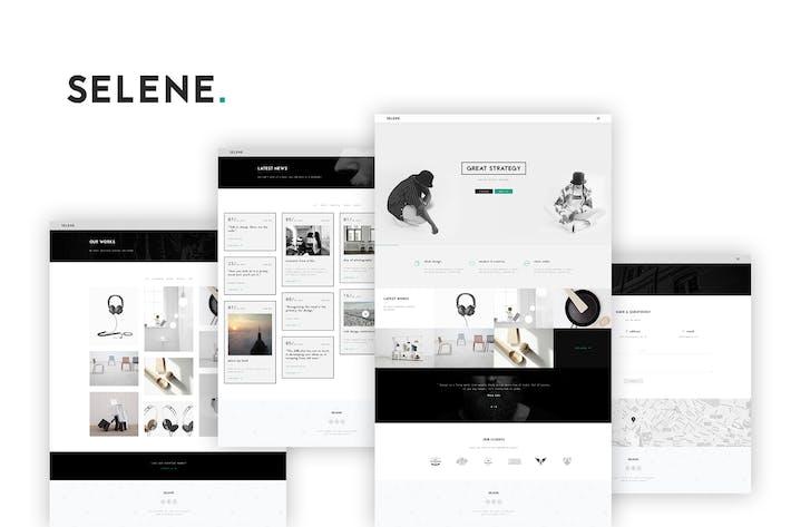 Thumbnail for Selene - Creative Portfolio / Agency Template