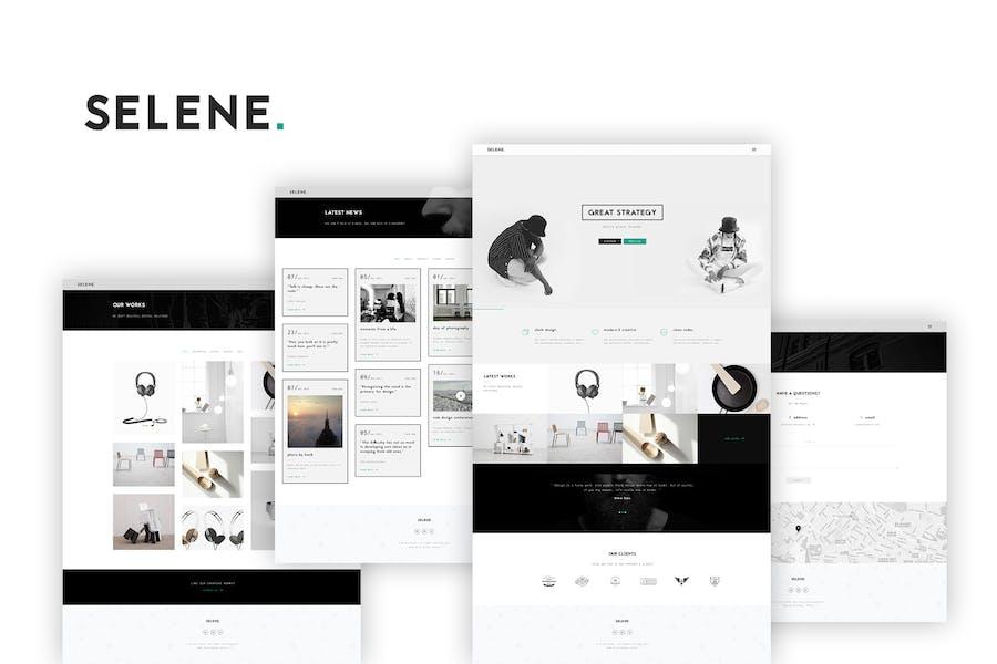 Selene - Creative Portfolio / Agency Template