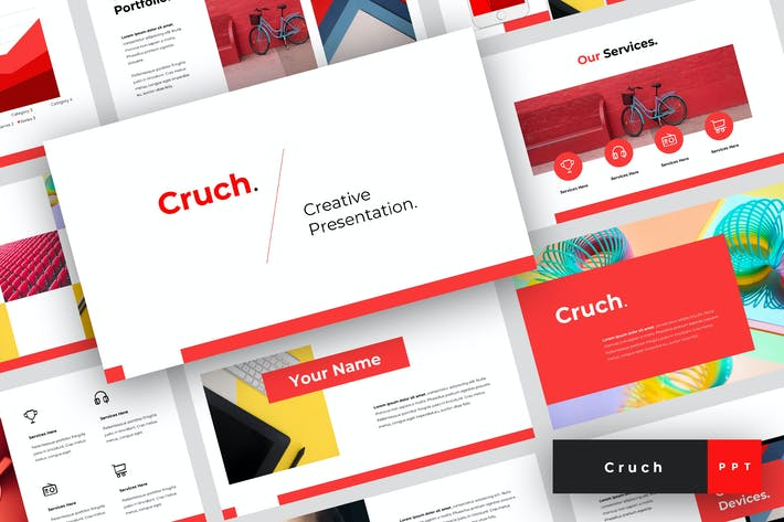 Thumbnail for Cruch - Creative PowerPoint Template