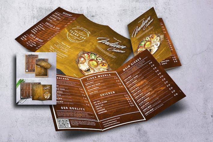 Thumbnail for Indian Cuisine Food Menu Bundle