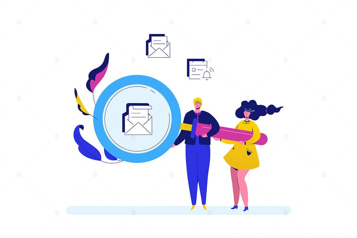 Thumbnail for Search - flat design style colorful illustration