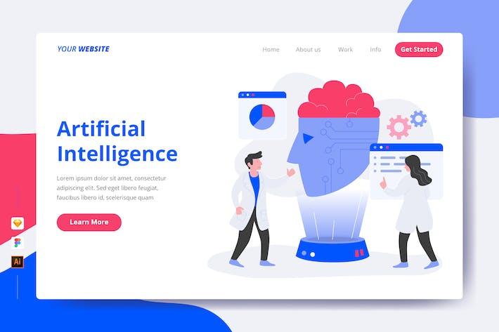 Intelligence artificielle - Page de destination