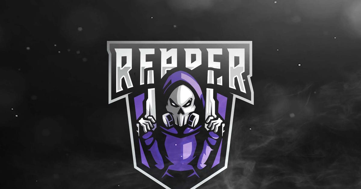 Download Reaper Sport and Esports Logo by ovozdigital