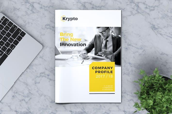 Cover Image For KRYPTO - Company Profile Brochure