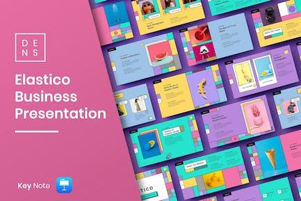 Elastico – Creative Business Keynote Template