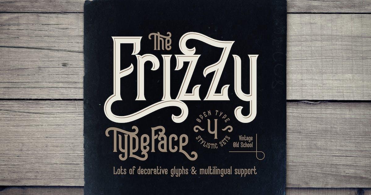 Download Frizzy vintage font by Gleb_Guralnyk