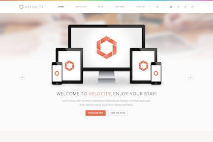 Velocity - Feature Rich Drupal Theme