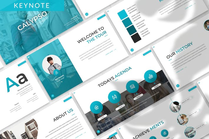 Thumbnail for Calypso - Business Keynote Template