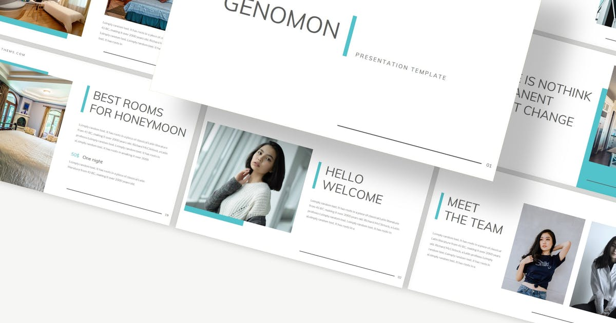 Download Genomon - Powerpoint Template by Macademia