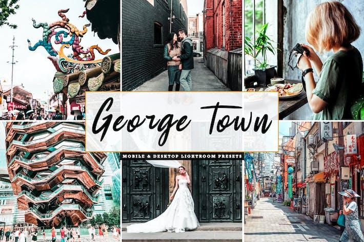 Cover Image For George Town Mobile & Desktop Lightroom Presets