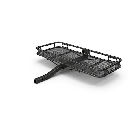 Car Cargo Basket Black Used
