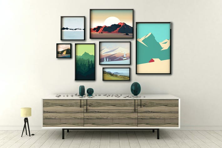 picture frame mockup by 2dsight on envato elements