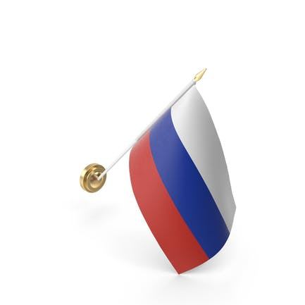 Mauerflagge Russland