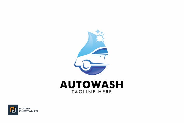 Thumbnail for Auto Wash - Logo Template