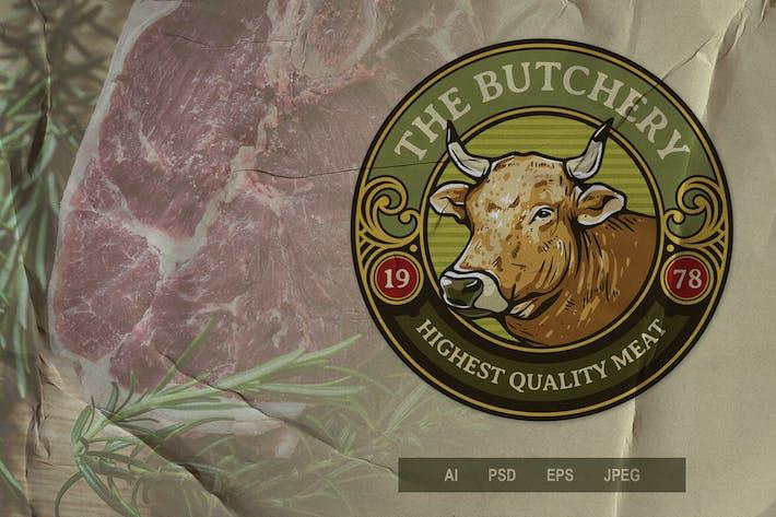 Thumbnail for Vintage Emblem - Butchery V1