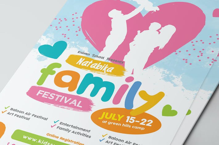 Thumbnail for Family Festival Flyer