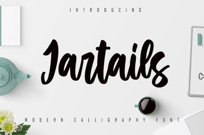 Thumbnail for Jartails - Fonte de calligraphie moderne