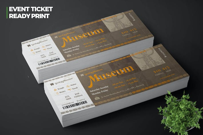Thumbnail for Museum Ticket Pro