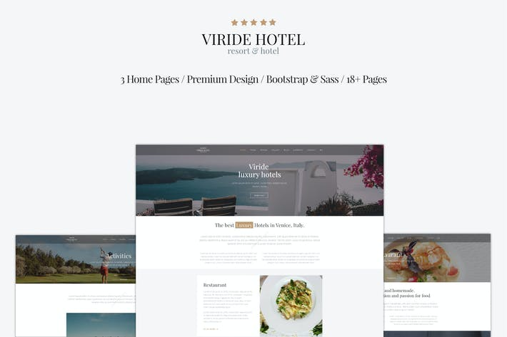 Thumbnail for Viride - Hotel & Resort Premium HTML template