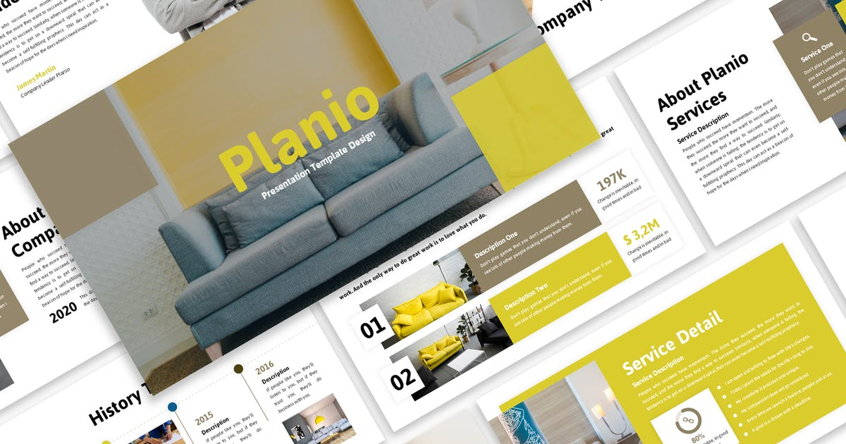 Download Planio - Business Keynote Template by Blesstudio