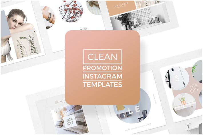 All the templates you can download envato elements instagram promotion clean templates fandeluxe Image collections