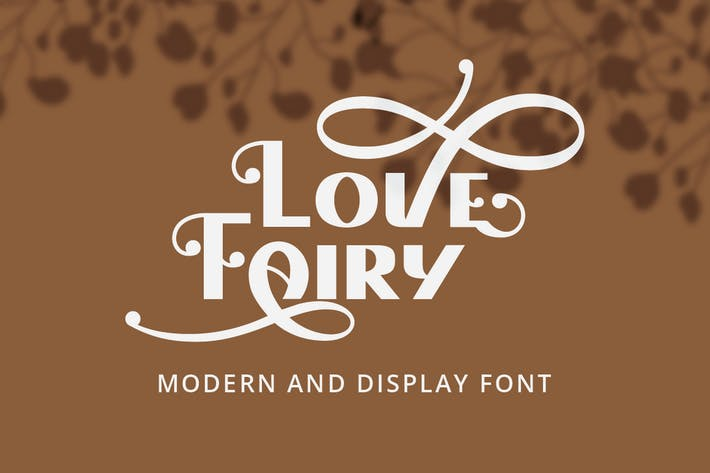 Thumbnail for Love Fairy - Modern Display Font