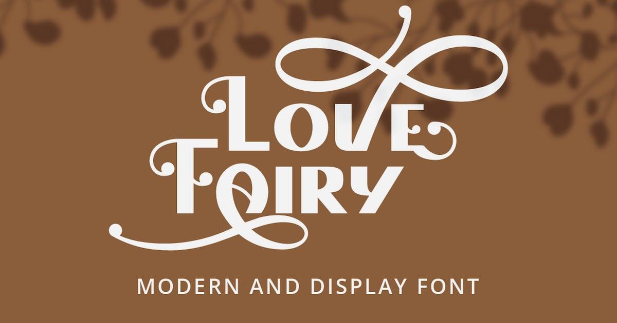 Download Love Fairy - Modern Display Font by Ahnaf-Studio