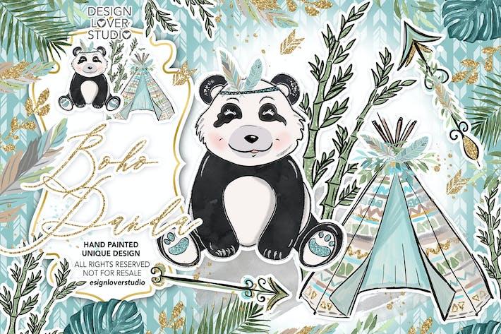 Thumbnail for Boho Panda design