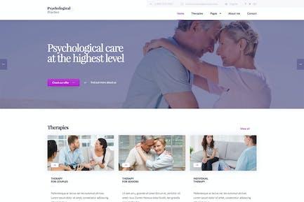 Psychology - Psychological Practice WP Theme