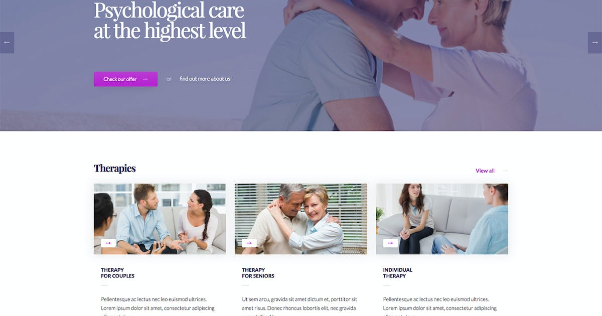 Download Psychology - Psychological Practice WP Theme by Martanian