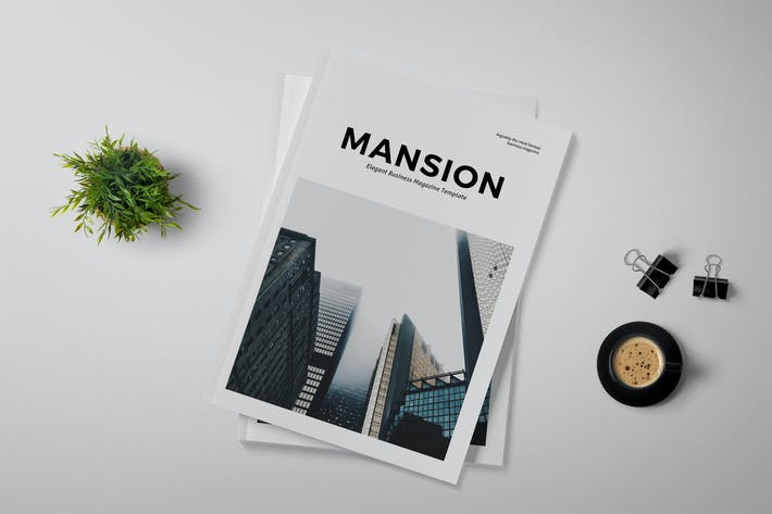 Thumbnail for Mansion - Magazine Template