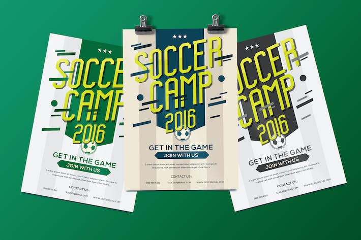 Thumbnail for Soccer  Camp Flyer