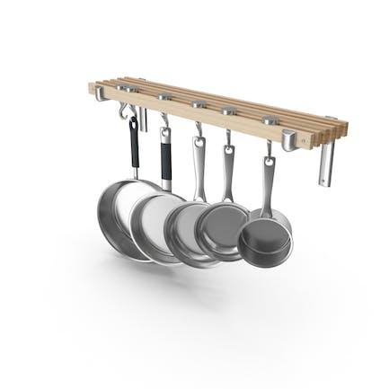 Küchenpfannenregal