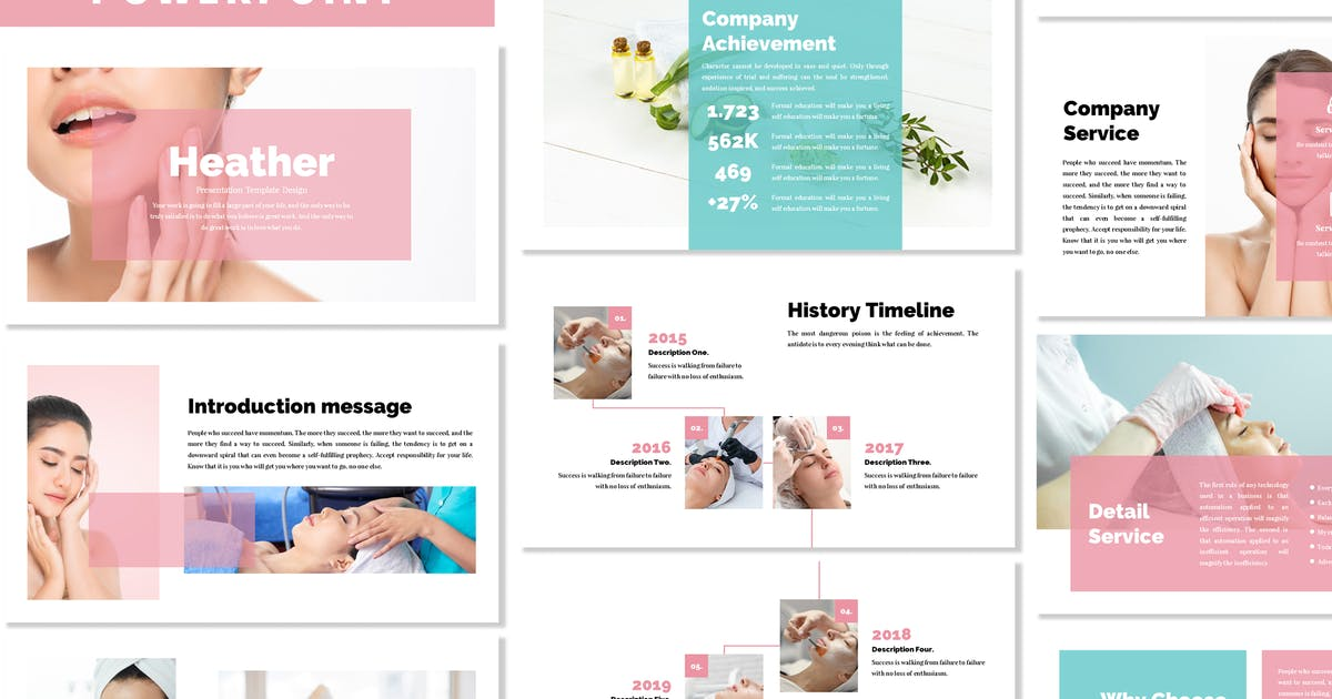 Download Heather - Business Powerpoint Template by Blesstudio