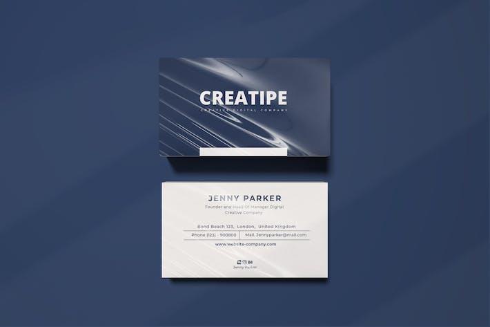 Thumbnail for Creatipe Business Card