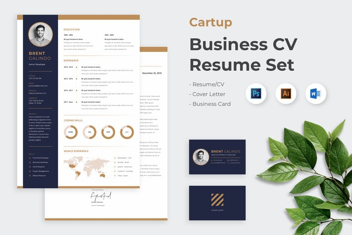 Cover Image For CV Resume