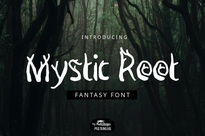 Thumbnail for Mystic Root Font