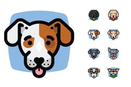 8 Dog Avatars