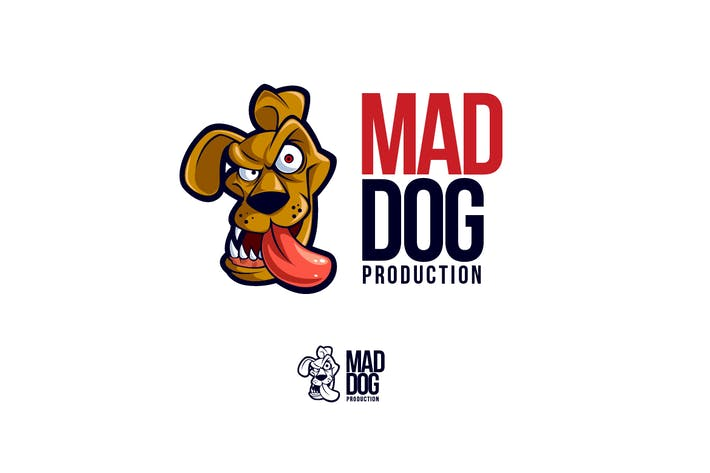 Cover Image For Mad Dog Logo