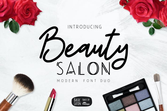 Beauty Salon Modern Fonts von yandidesigns auf Envato Elements