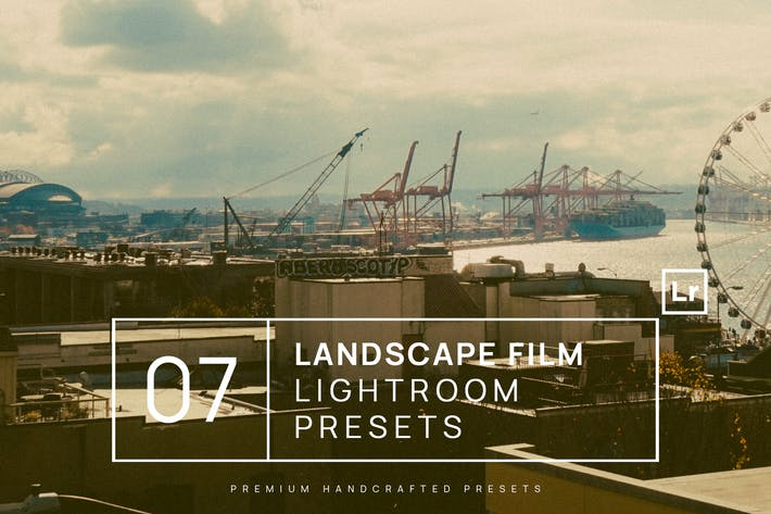 Thumbnail for 7 Landscape Film Lightroom Presets + Mobile