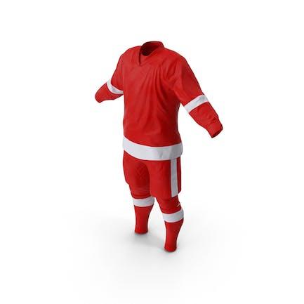 Eishockey Bekleidung Rot
