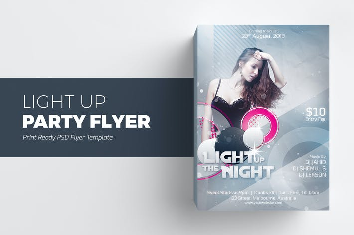Thumbnail for Light Up The Night Party Flyer